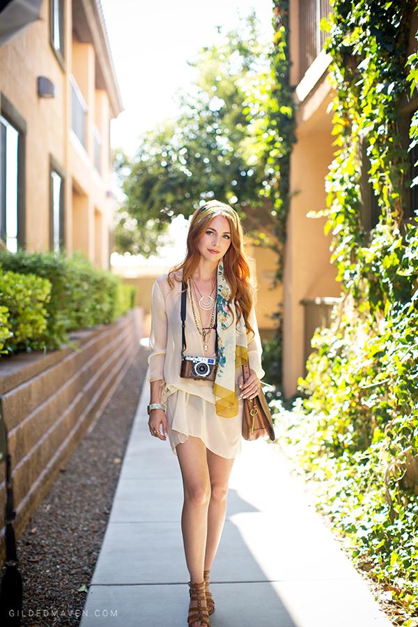 LOVE this Breezy Boho Fashion Look from Sedona, Arizona on GildedMaven.com!
