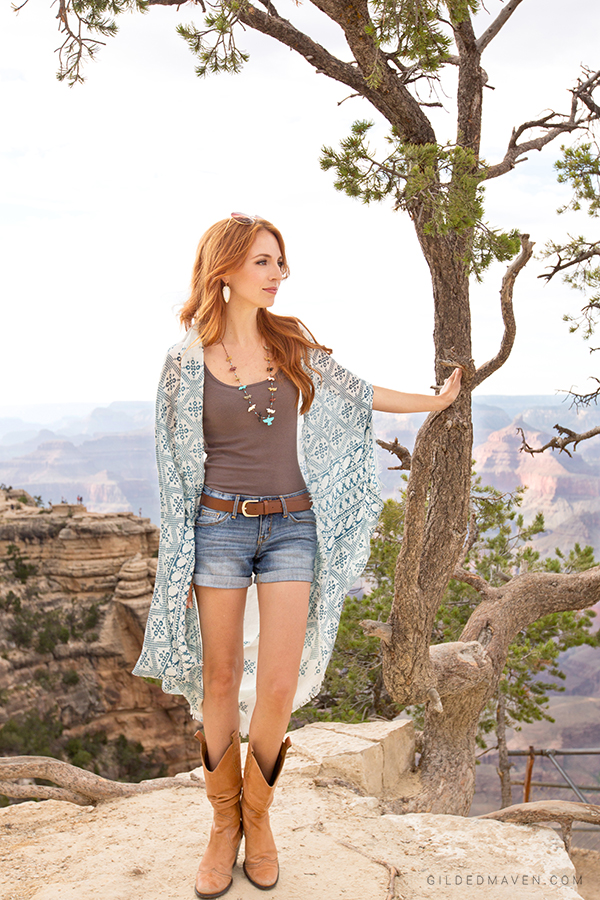 Best cowboy boots EVER - Grand Canyon Style on gildedmaven.com