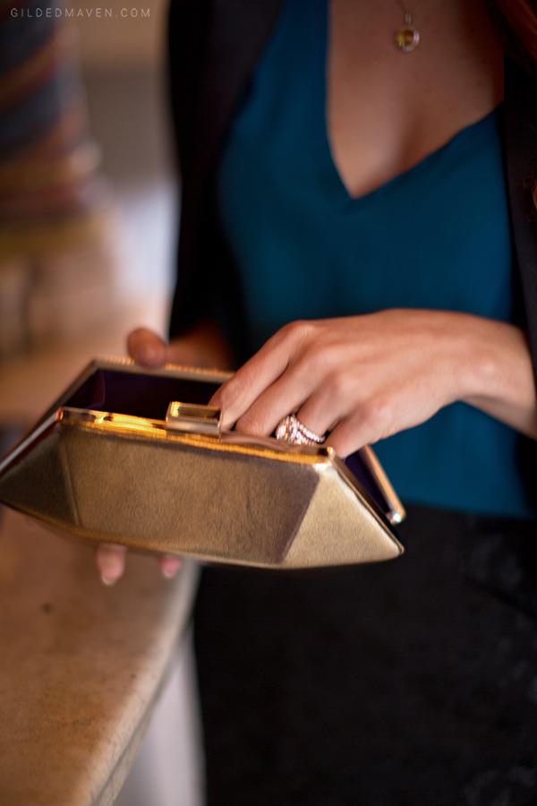 #GOLD clutch!   gildedmaven.com