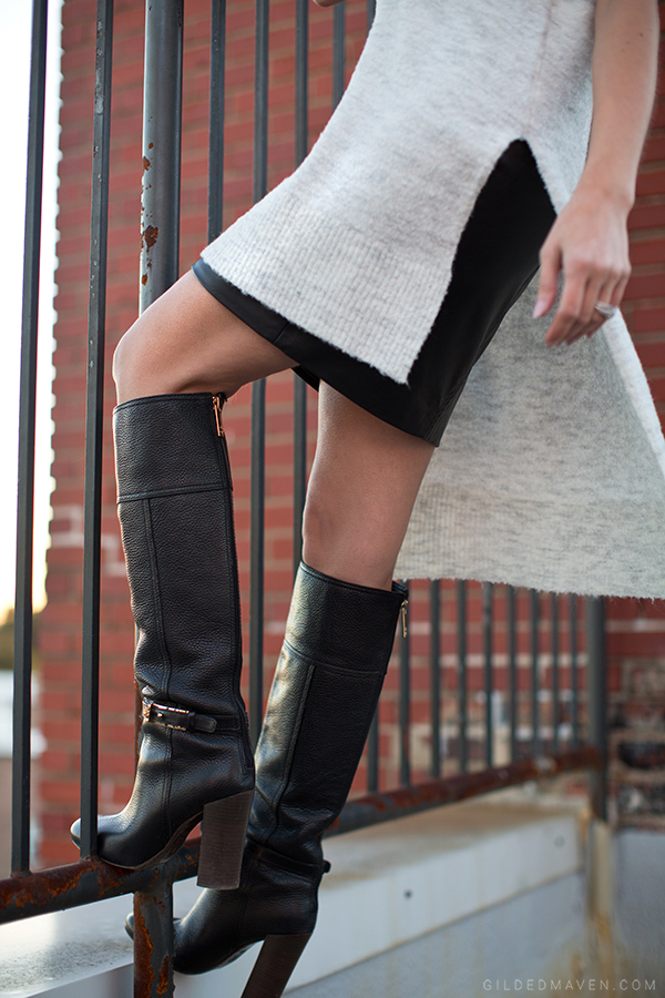 Tory Burch Boots! <3 Click to shop the look!