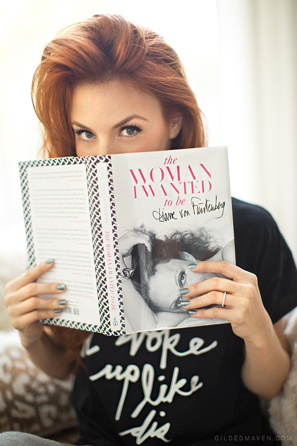 GREAT READ! The Woman I Wanted To Be by Diane von Furstenberg #DVF #2NOSTALGIK gildedmaven.com