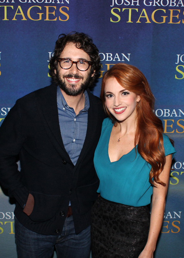 Josh Groban & Catherine Kung at the Palace Theatre Louisville Ky