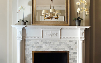 MARBLE FIREPLACE FACELIFT