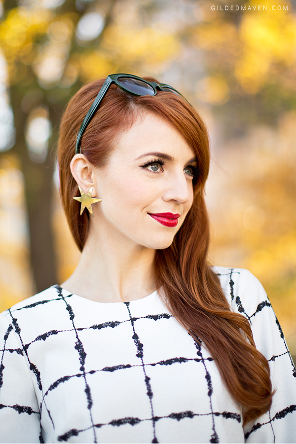 The perfect Chanel red lips for a redhead... get the color here: gildedmaven.com