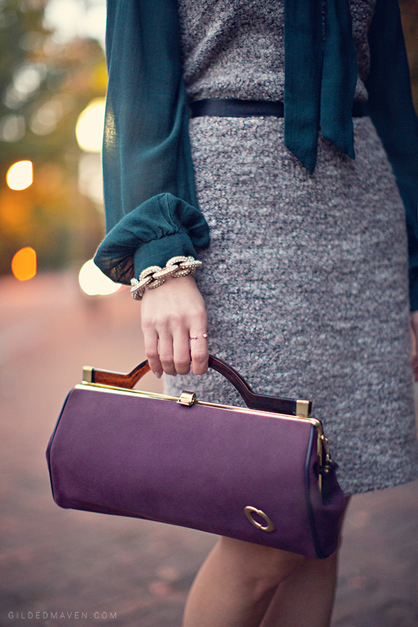 <3 Vintage Purses <3 #purple #retro gildedmaven.com