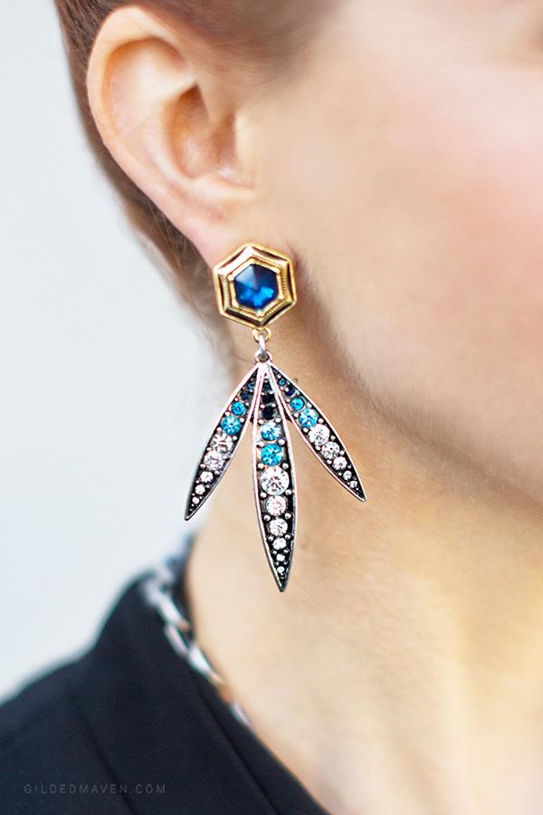 Luna Flora Earrings