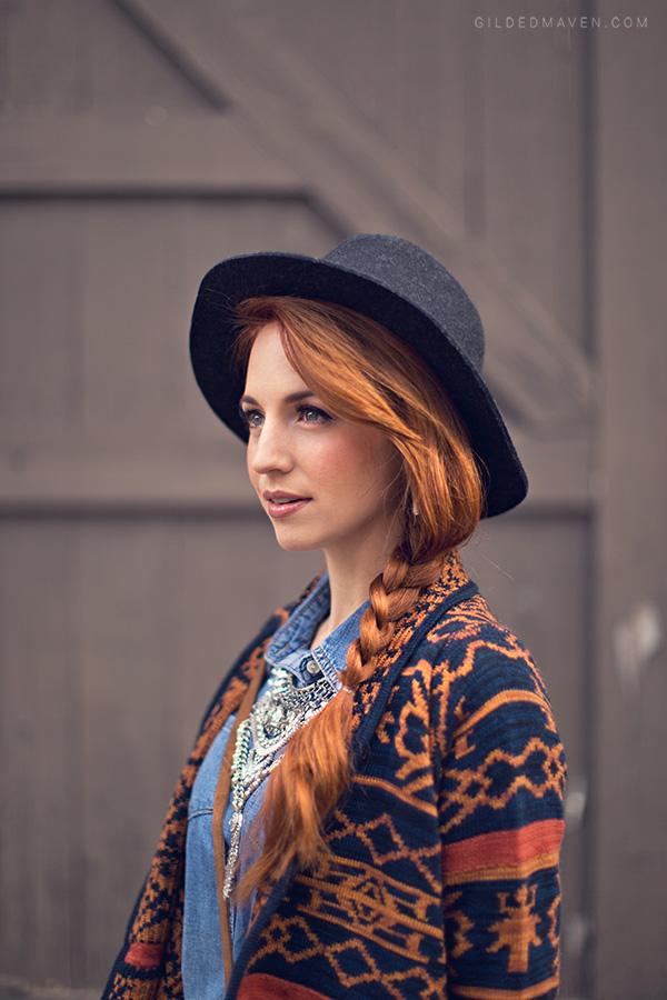 Folk Story; Winter Fashion on GildedMaven.com