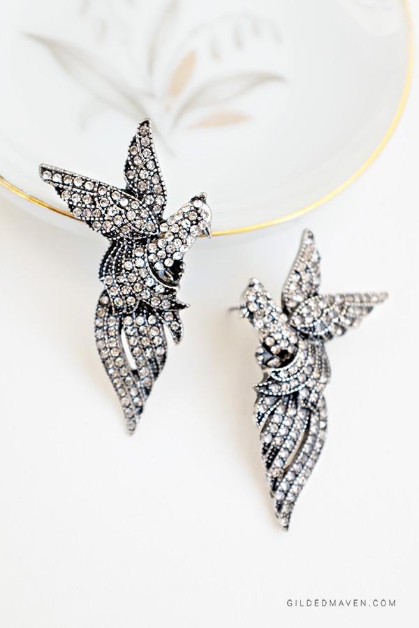 Nightbird Earrings