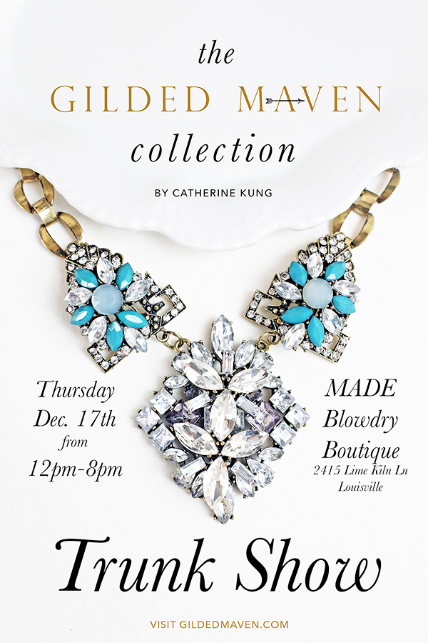 Gilded Maven Trunk Show