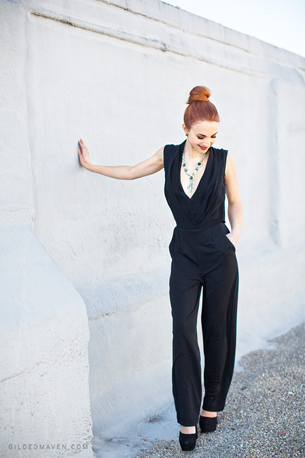Take the Plunge! Check out how to style this look with fashion blogger Catherine Kung!