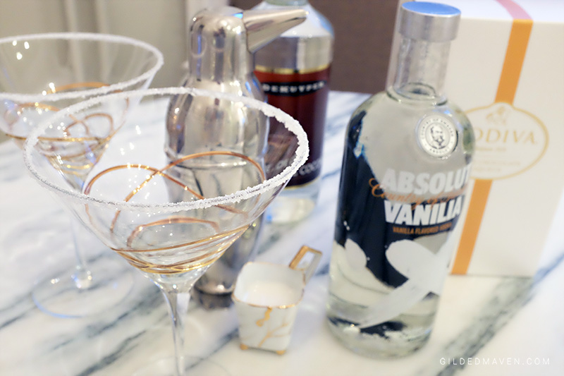 SNOWDAY MARTINI recipe