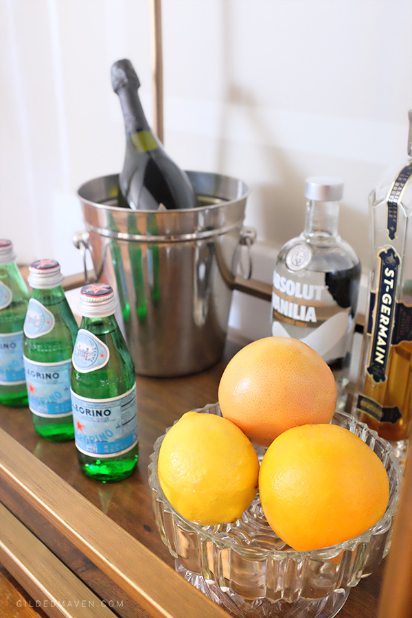 Tips on how to style the perfect Bar Cart!
