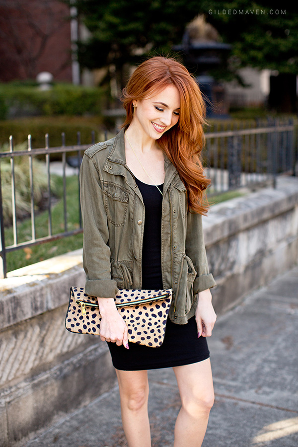 The best green army jacket! Love this outfit!
